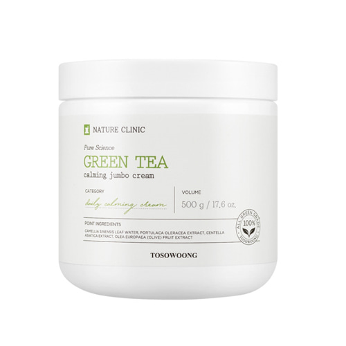 TOSOWOONG Green Tea Calming Jumbo Cream 500g