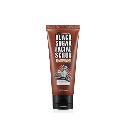 TOSOWOONG Black Sugar Facial Scrub 100ml