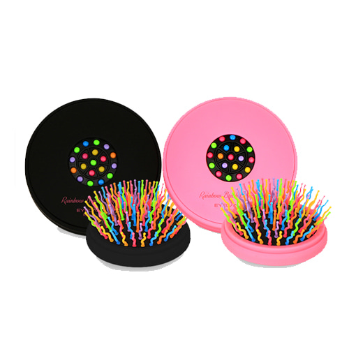EYECANDY Rainbow Brush Compact