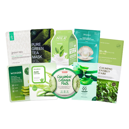 Mask Sheet Trial Kit (Greeny)